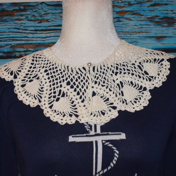 Accessories - Vintage Crocheted Collar
